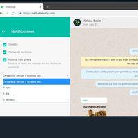 Notificaciones WhatsApp Web: cómo desactivarlas en cualquier navegador o silenciar usuarios