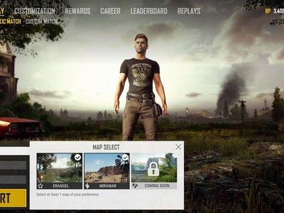 Le esperada selcción de mapa está muy cerca de llegar a PlayerUnknown's Battlegrounds