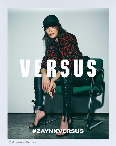 Bella Hadid posa para la campaña Zayn x Versus, la nueva colección diseñada por su cuñado. Parece que todo queda en familia