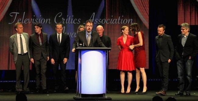 Imagen de los TCA Awards 2012