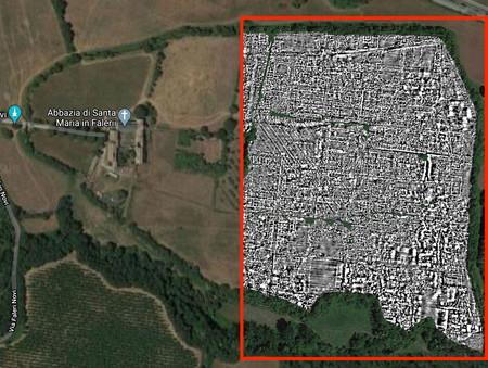 """Unos investigadores han mostrado como nunca una antigua ciudad romana enterrada con una técnica """"de siempre"""": un georradar"""