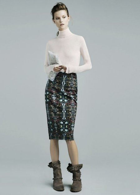 Cisne Zara lookbook noviembre