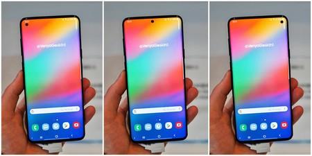 ¿Evolución del notch?: el Galaxy S10 tendría un pequeño orificio en la pantalla para la cámara frontal
