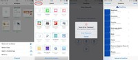 OneDrive para iOS añade notificaciones push, y permite acceder a sus documentos desde otras aplicaciones