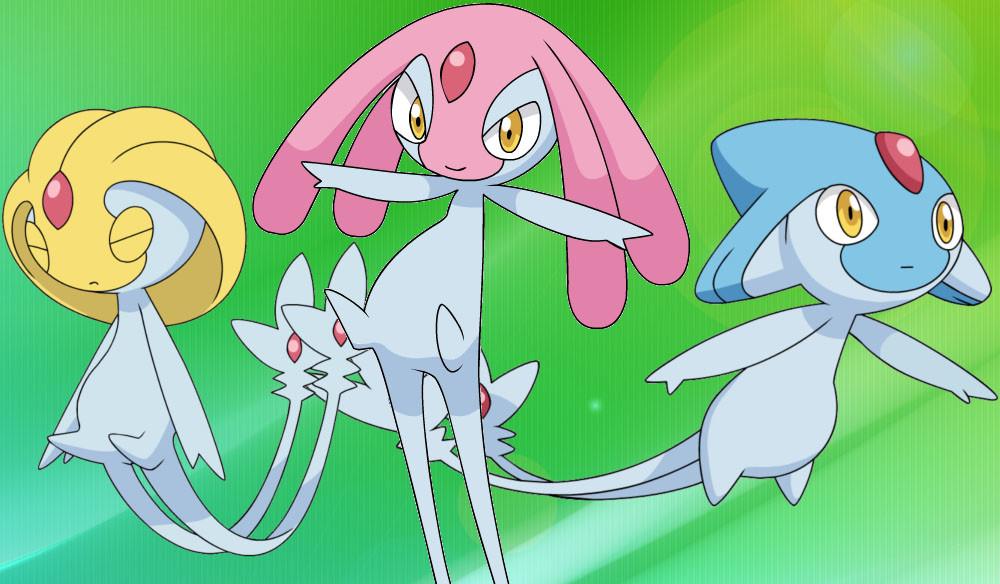 El trío de Pokémon legendarios Azelf, Uxie y Mesprit han comenzado a aparecer en Pokémon GO