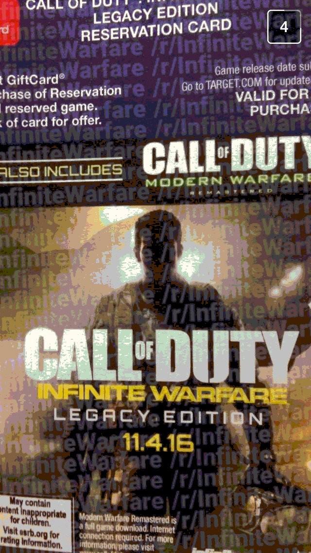 Call Of Duty Infinite Warfare Portada Filtracion