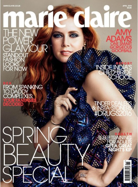 Marie Claire UK: Amy Adams