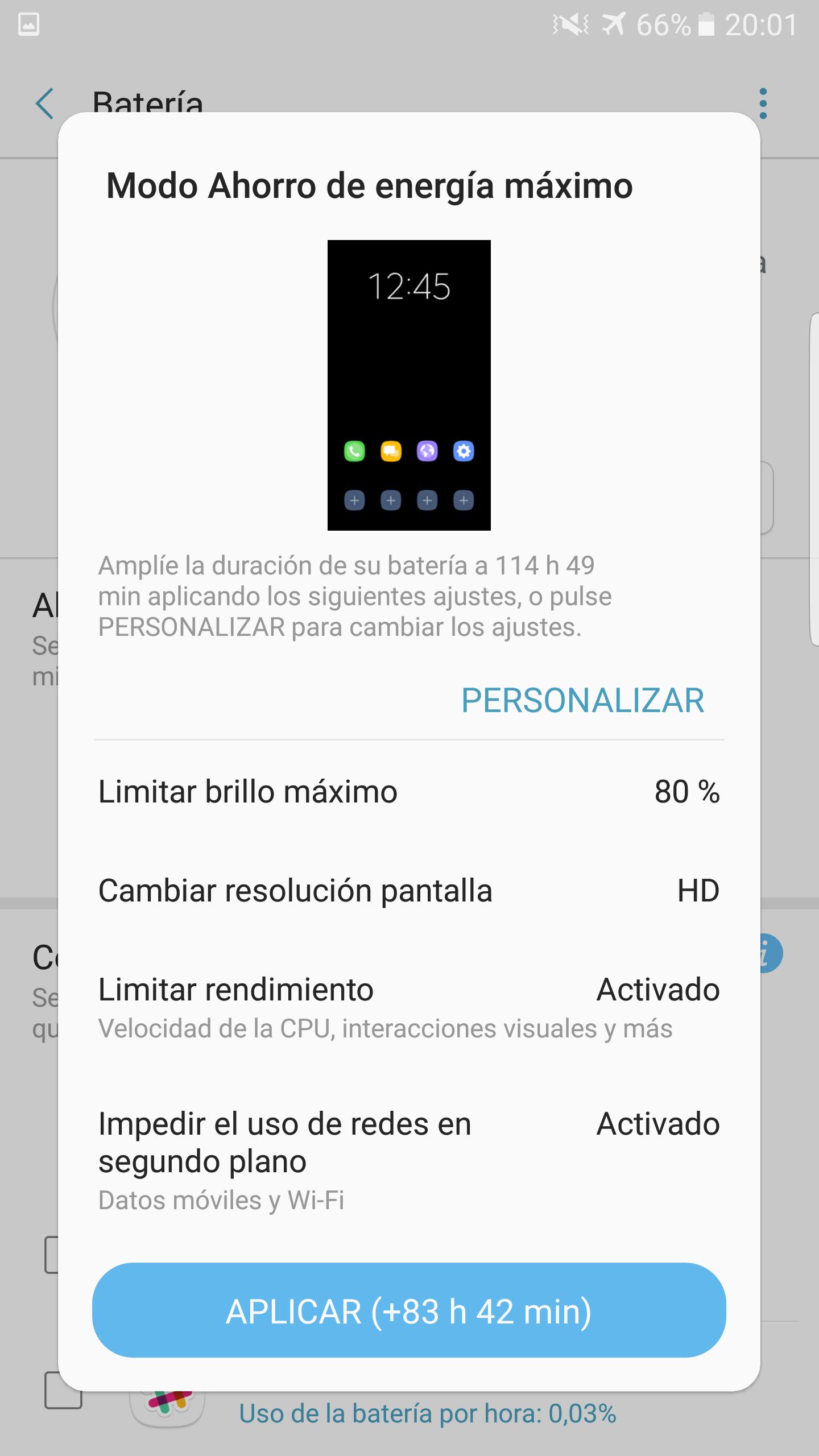 Foto de Galaxy Note 7 ahorro energía (3/5)
