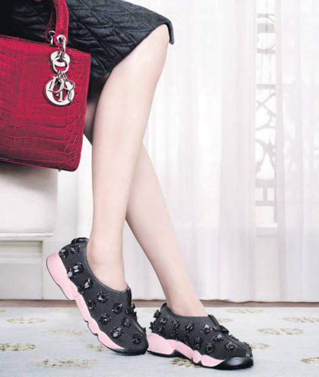 Dior Zapatillas Flores Clon Zara 1