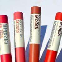 Probamos los nuevos Super Stay Ink Crayón de Maybelline y descubrimos que duran todo el día