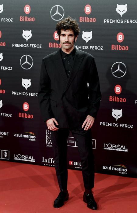 Tamar Novas Premios Feroz Alfombra Roja Red Carpet Trendencias Hombre