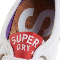 Zapatillas blancas para chica Superdry por 7,95 euros y envío gratis en eBay