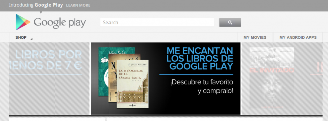 Google Play Libros España