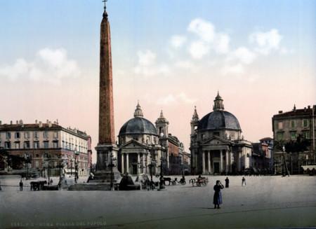 Piazza Del Popolo Uno De Los Lugares Mas Simbolicos De La Capital Romana
