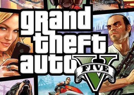 Aquí tenemos la portada oficial de 'Grand Theft Auto V'