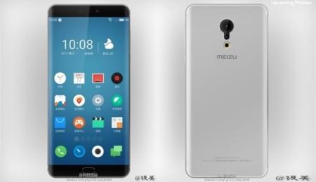El Meizu Pro 6 Plus se muestra en unos renders con lo que parecen bordes curvados