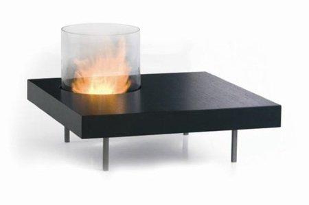 Mesas de centro con fuego incorporado