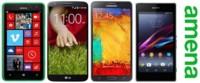 Precios Samsung Galaxy Note 3, LG G2, Sony Xperia Z1 y Nokia Lumia 625 con Amena