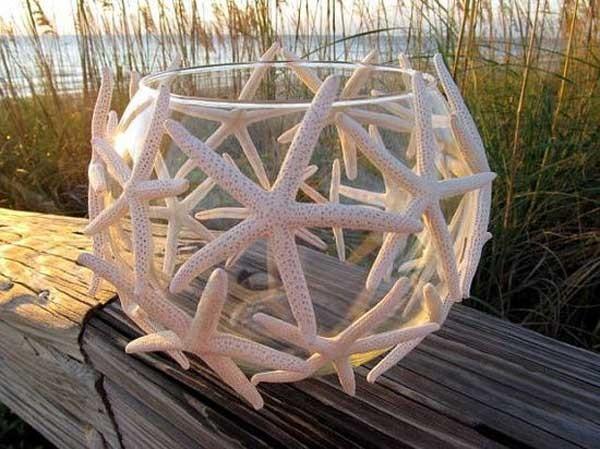 Crea tu propio ambiente veraniego utilizando las estrellas de mar y renueva tu hogar