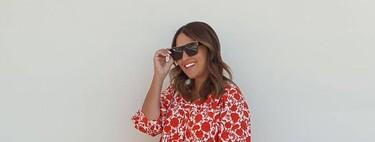 Paula Echevarría tiene el vestido de nueva colección de Mango perfecto para lucir en verano y también otoño