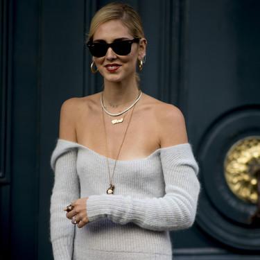 Este es el vestido de Jacquemus que le jugó una mala pasada a Chiara Ferragni
