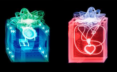 Xograms de Hugh Turvey: descubriendo el interior de los regalos navideños con fotografía de rayos X