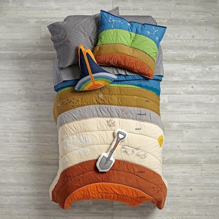 Geology Bedding Quilt Earth Center 2