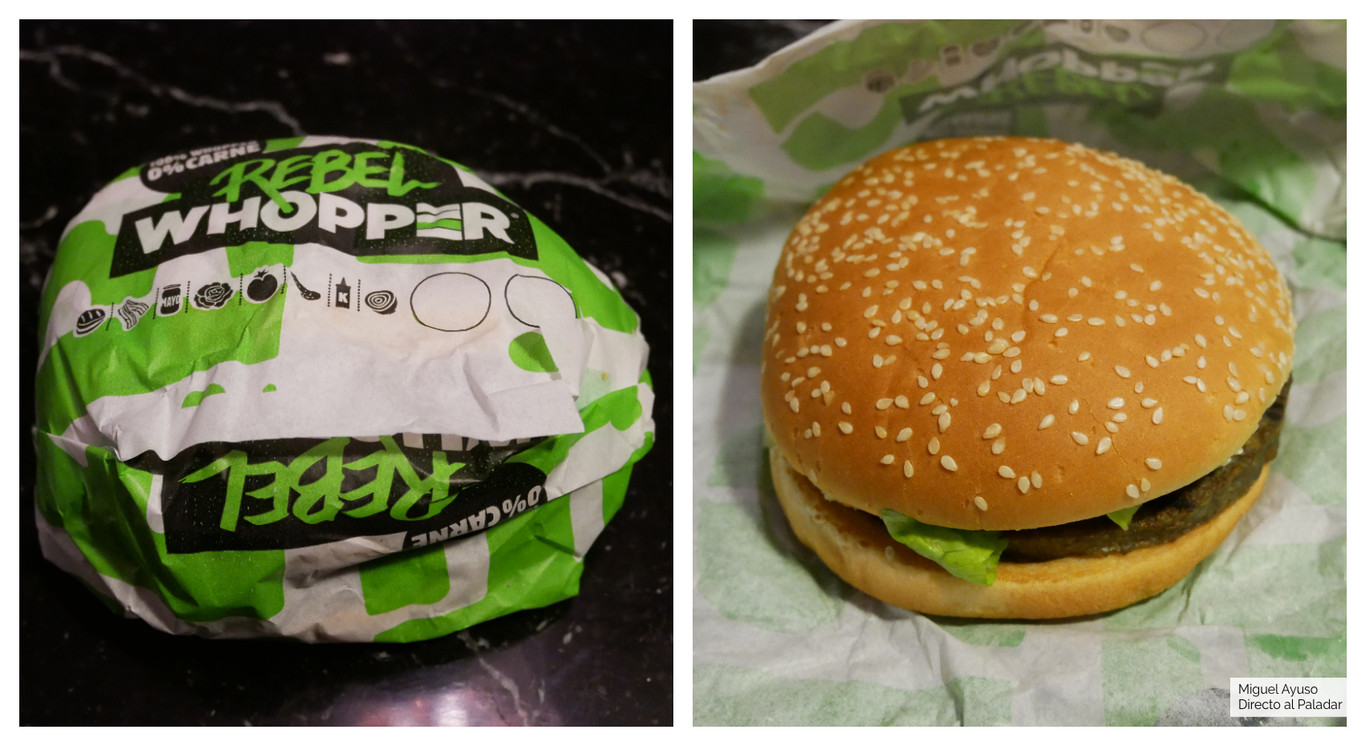 Probamos la nueva hamburguesa vegetariana de Burger King (y comprobamos que se hace en la misma parrilla que...