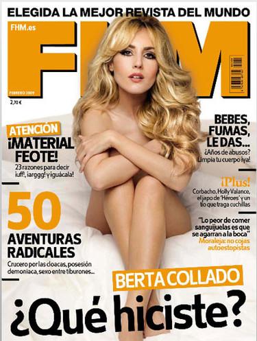 Berta Collado impresionante para FHM