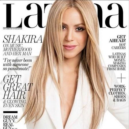 Shakira portada Latina