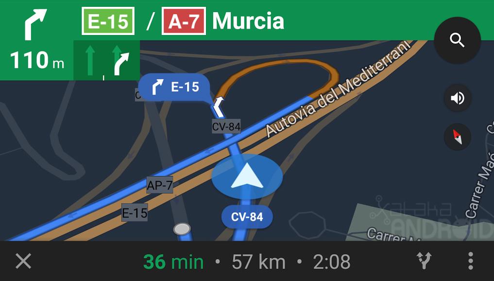 Navegadores GPS para Android