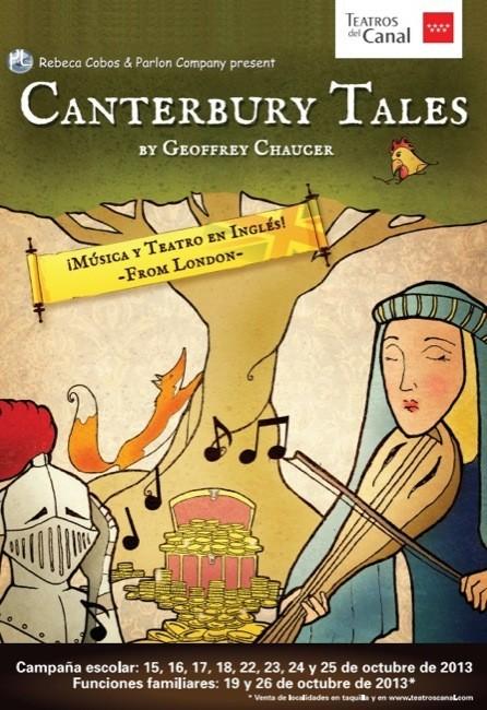 Rebeca Cobos y la compañía británica Parlon presentan los Cuentos de Canterbury en los Teatros del Canal de Madrid