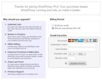 Workflowy da los primeros pasos con sus cuentas de pago