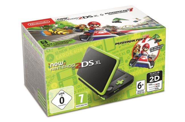 New Nintendo 2ds Xl Negra