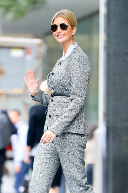 Ivanka Trump imita a Melania y se inspira en ella para ir a trabajar