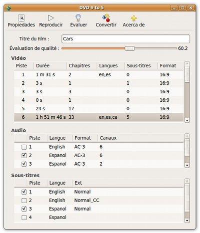 DVD95: convertir un DVD de doble capa en uno de una sola capa