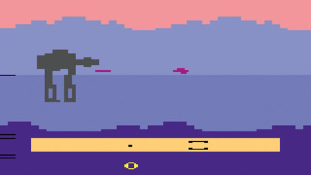 Star Wars Empire Strikes Back Atari