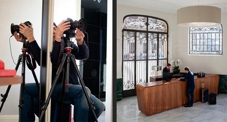 Un día con... Amador Toril en una producción para la revista Interiores