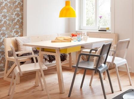 Buena o mala idea? Mesas de comedor de madera sin mantel