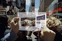 Nuevo concepto de tablet flexible y transparente de Samsung
