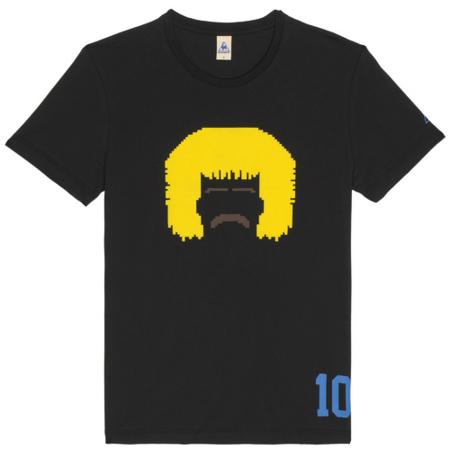 camiseta retro futbol lecoq