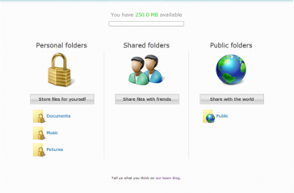 Windows Live Folders ya en beta