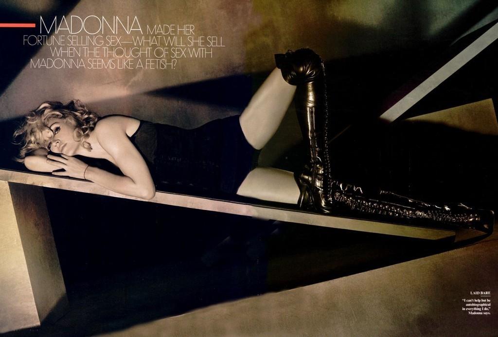 Foto de Madonna en Vainity Fair al completo (5/5)
