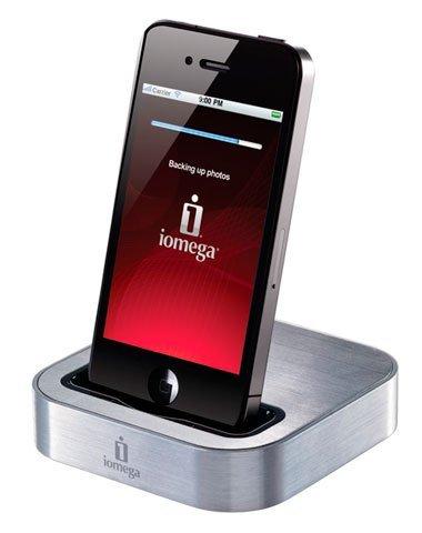 Iomega SuperHero Backup & Charger, cargar y respaldar todo en uno