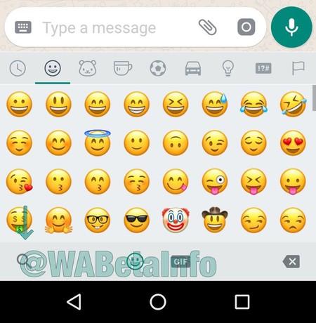 WhatsApp emoji buscador