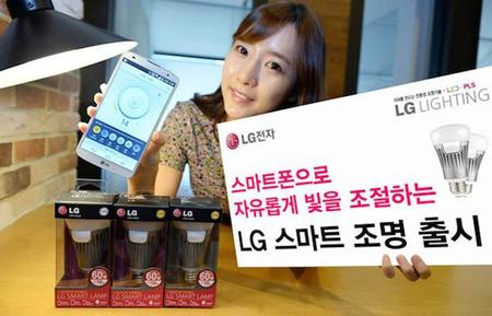 LG Smart Lighting System, focos LED inteligentes para iOS y Android