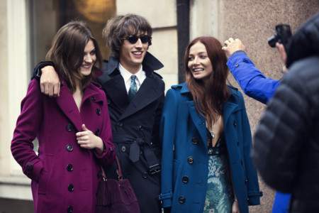 Burberry Autumn Winter 2015 Campaign Behind The Scene 001