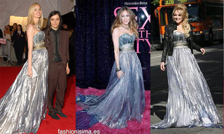 Vestido de Nina Ricci. ¿Sarah Jessica Parker, Lauren Santo Domingo o Lindsay Lohan?