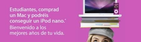 Apple educación: compra un Mac y te llevas 125 euros para un iPod