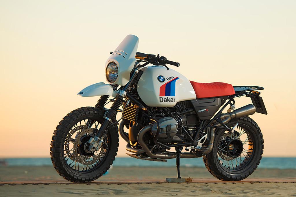Bmw R Ninet Dakar Unit Garage 1